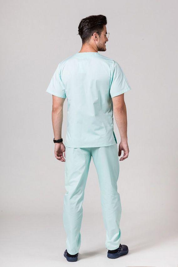 komplety-medyczne-meskie Pánská zdravotnická souprava Sunrise Uniforms mátová