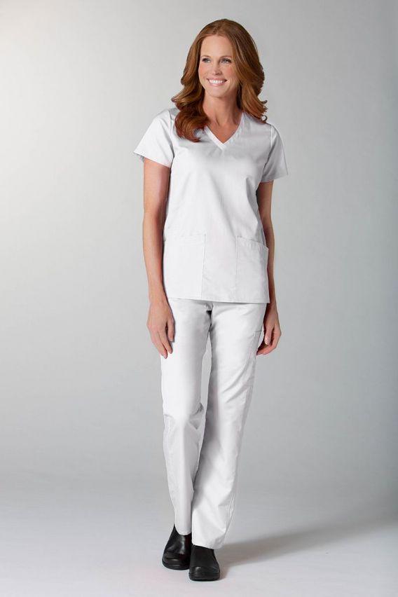 spodnie-medyczne-damskie Lékařské kalhoty Maevn EON Classic bílé