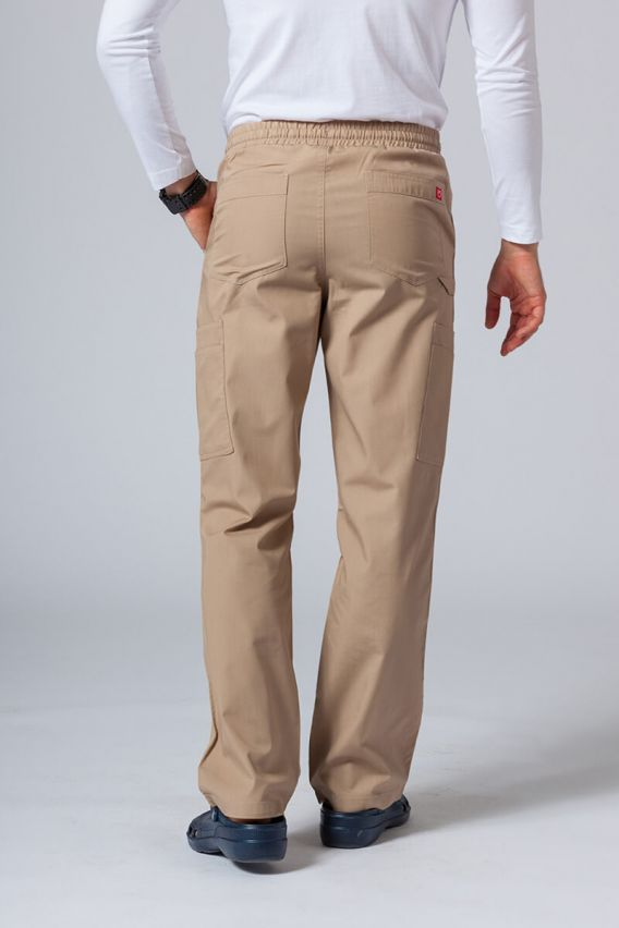 spodnie-medyczne-meskie Pánské lékařské kalhoty Maevn Red Panda Cargo (6 kapes) khaki