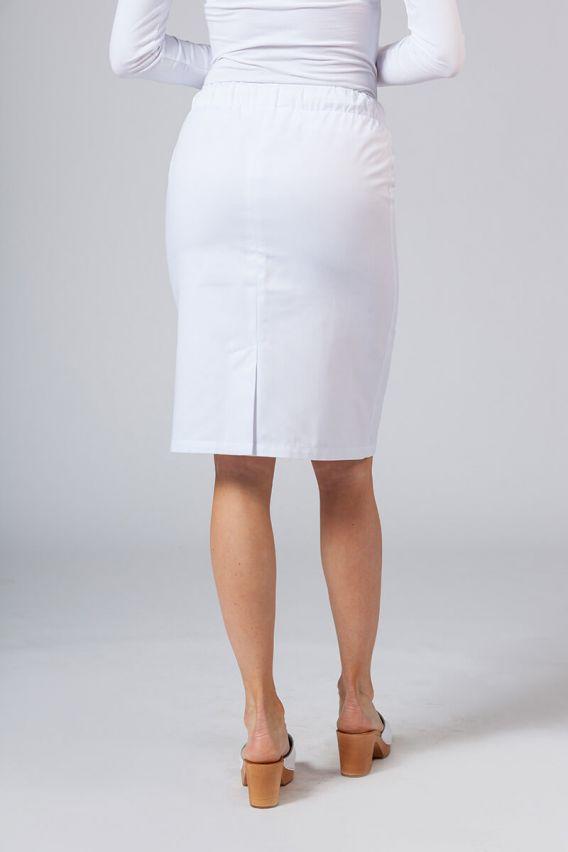 spodnice Dlouhá zdravotnická sukně Sunrise Uniforms bílá