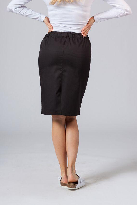 spodnice Dlouhá zdravotnická sukně Sunrise Uniforms černá