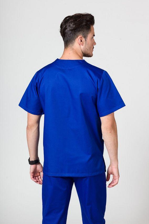 bluzy-medyczne-meskie Univerzální lékařská mikina Sunrise Uniforms tmavě modrá