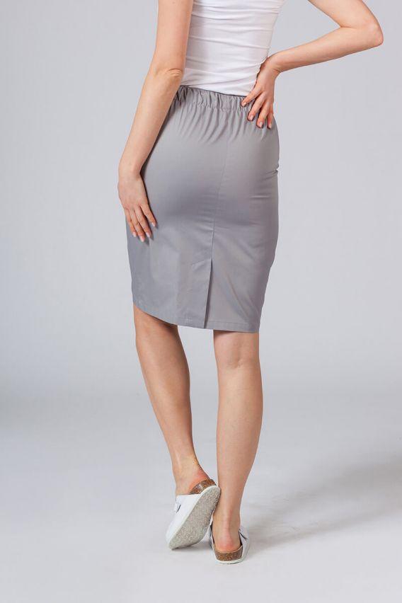 sukne-1 Dlouhá zdravotnická sukně Sunrise Uniforms šedá