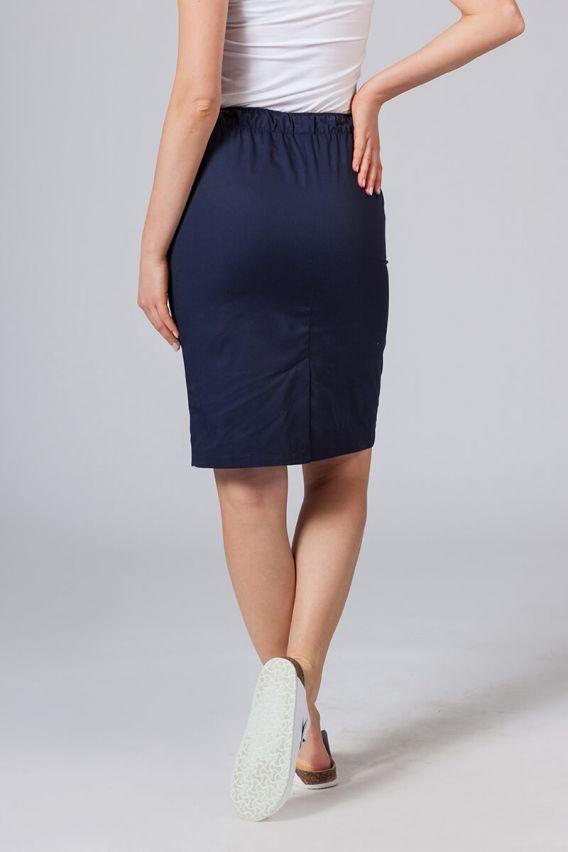 sukne-1 Dlouhá zdravotnická sukně Sunrise Uniforms tmavě modrá