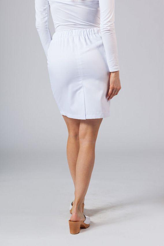 sukne-1 Krátká zdravotnická sukně Sunrise Uniforms bílá