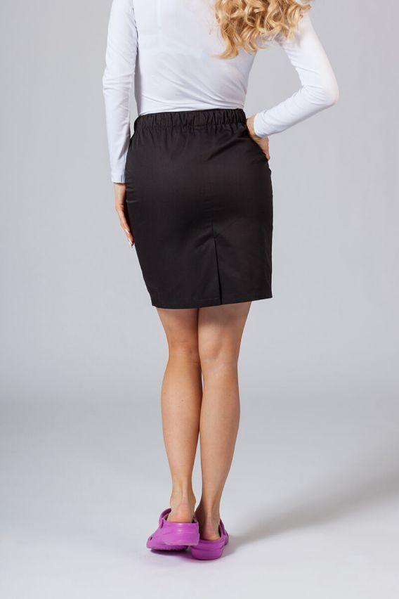sukne-1 Krátká zdravotnická sukně Sunrise Uniforms černá