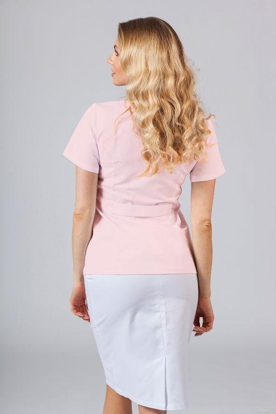 saka-1 Lékařské sako Sunrise Uniforms pudrový růžový