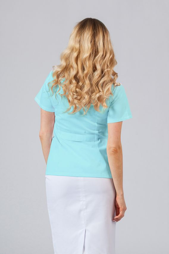 saka-1 Lékařské sako Sunrise Uniforms aqua