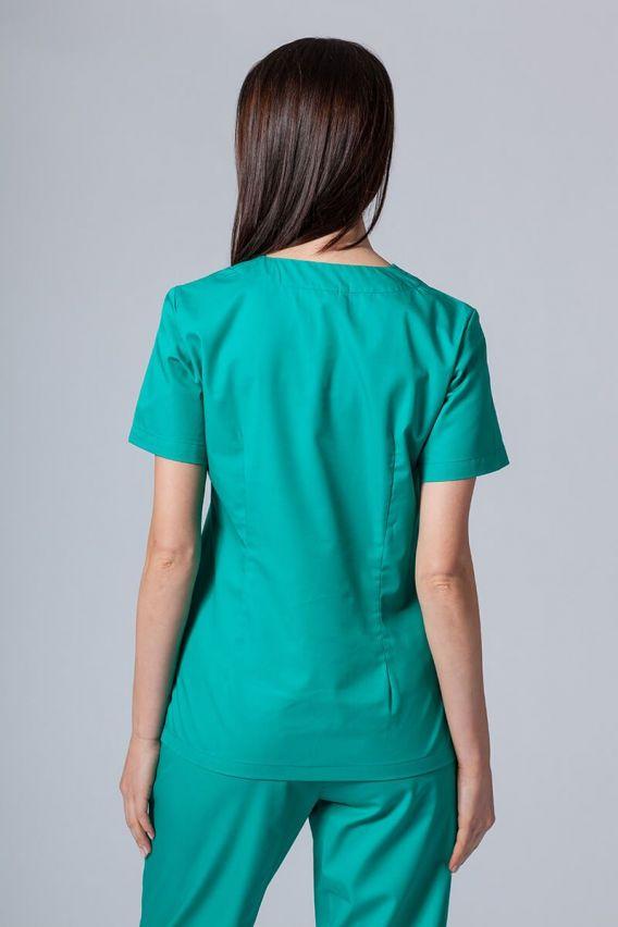 bluzy-medyczne-damskie Lékařská halena Sunrise Uniforms zelená