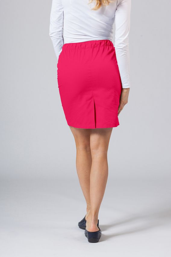 sukne-1 Krátká zdravotnická sukně Sunrise Uniforms malinová