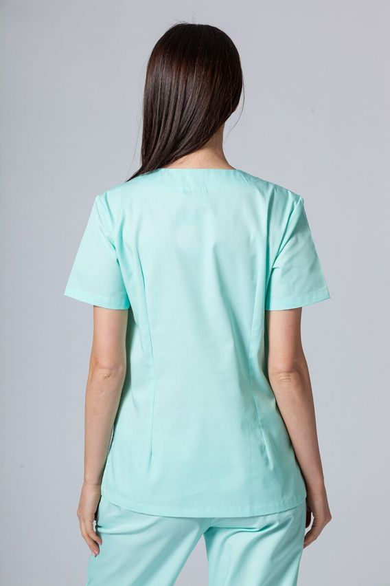 bluzy-medyczne-damskie Lékařská halena Sunrise Uniforms mátová