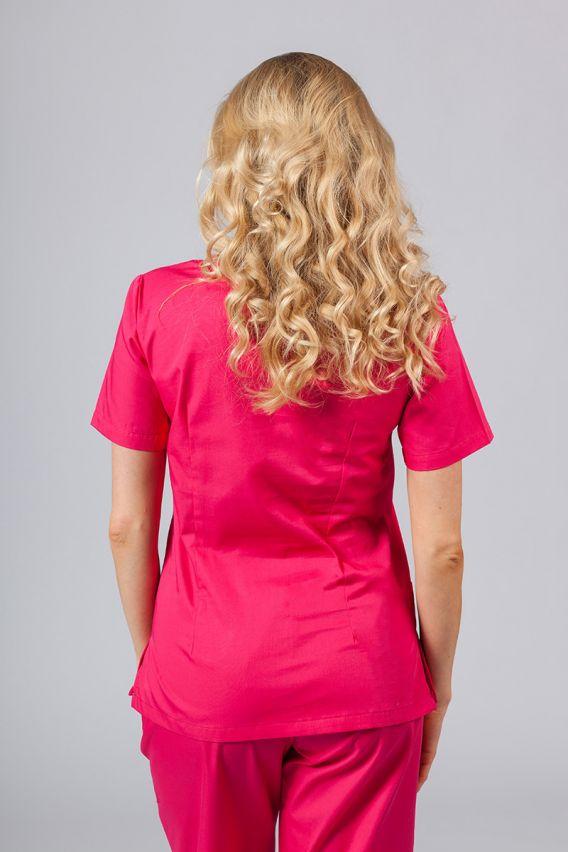 bluzy-medyczne-damskie Lékařská halena Sunrise Uniforms malinová