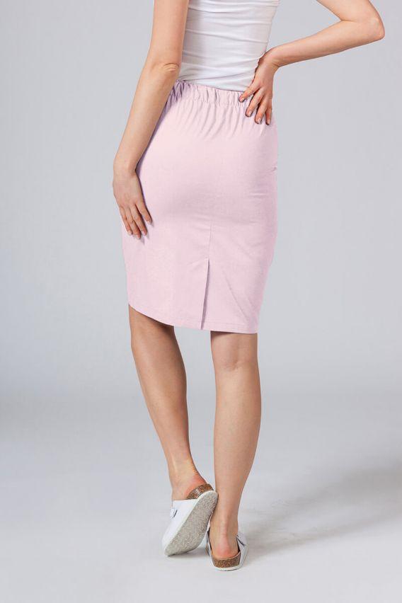 sukne-1 Dlouhá zdravotnická sukně Sunrise Uniforms pudrová růžová