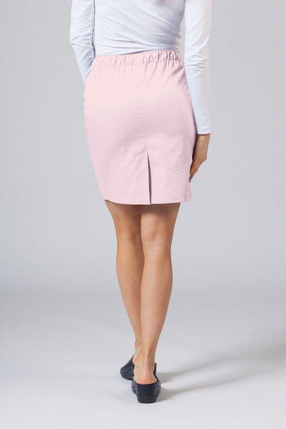 sukne-1 Krátká zdravotnická sukně Sunrise Uniforms pudrová růžová