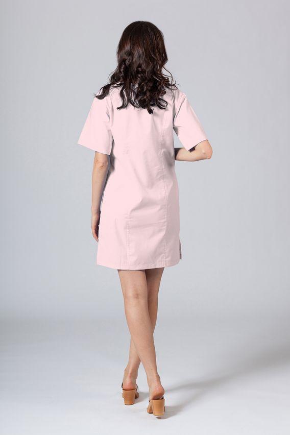 saty-1 Lékařské Klasické šaty Sunrise Uniforms pudrové růžové