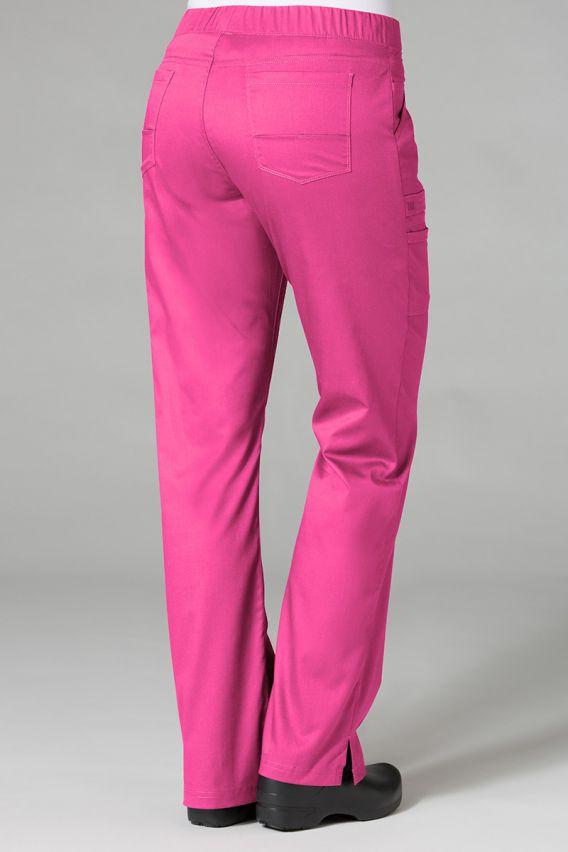 spodnie-medyczne-damskie Lékařské kalhoty Maevn PrimaFlex růžové