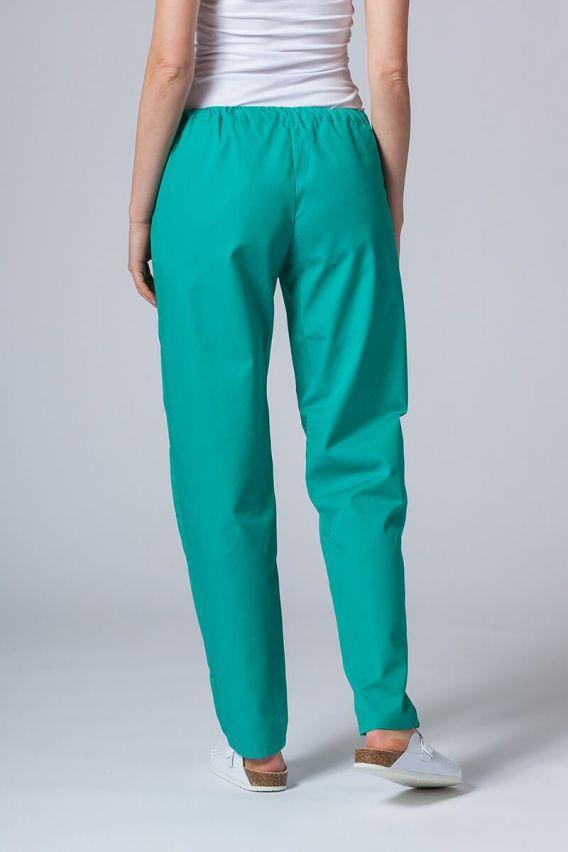 kalhoty-1-1 Univerzální lékařské kalhoty Sunrise Uniforms zelené