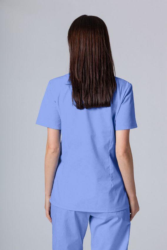 bluzy-medyczne-damskie Lékařská halena Sunrise Uniforms modrá promo