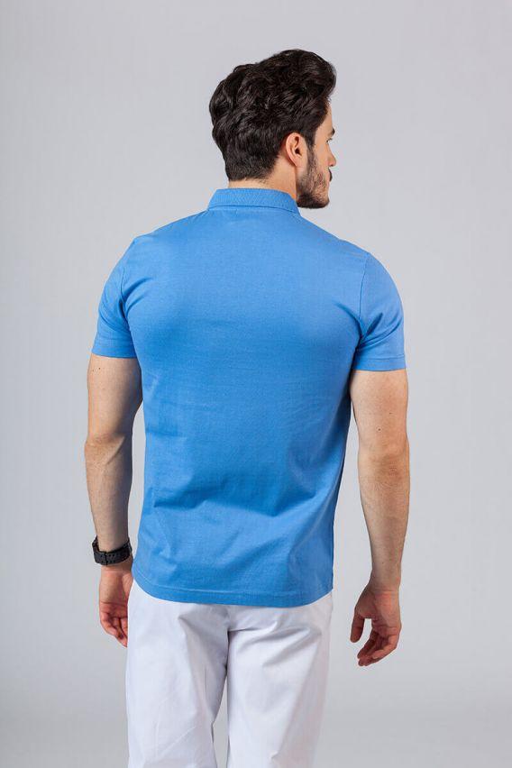 koszulki-medyczne-meskie Pánské Polo tričko královsky modré