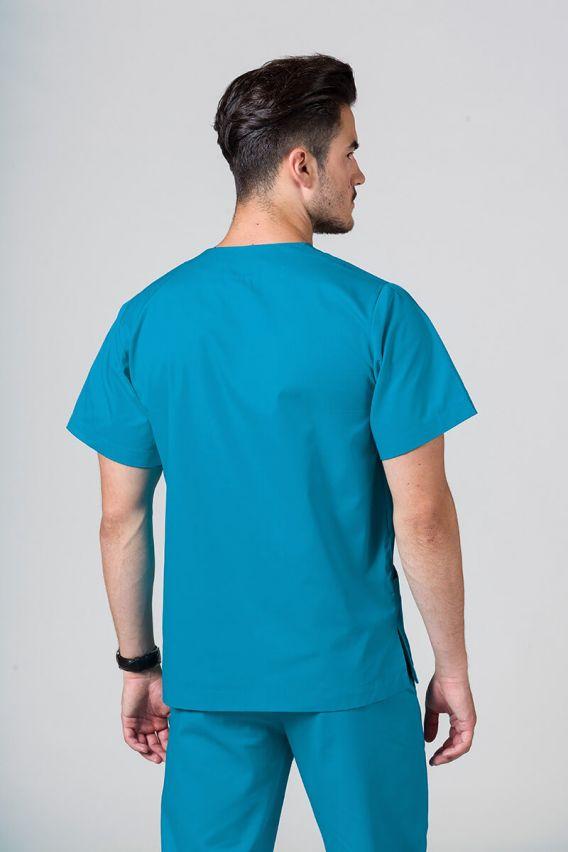 bluzy-medyczne-meskie Univerzální lékařská mikina Sunrise Uniforms tyrkysová promo