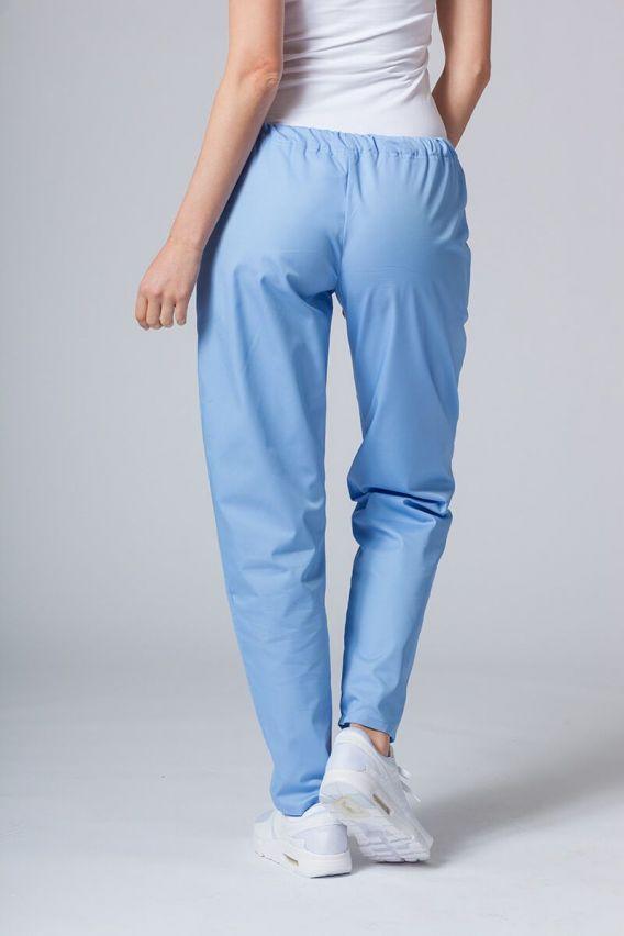 spodnie-medyczne-damskie Univerzální lékařské kalhoty Sunrise Uniforms modré