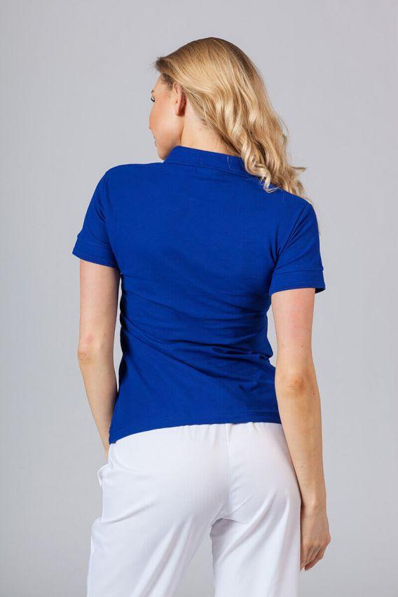 polo Dámské polo triko tmavě modré