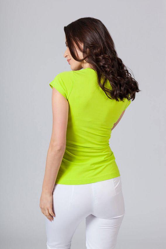 tricka-2 Dámské tričko Malfini limetkové
