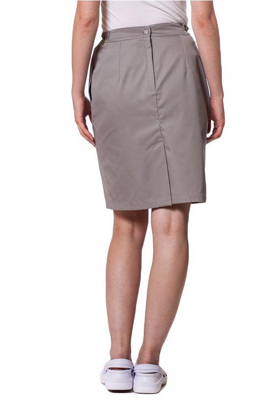 spodnice Sukně s kapsami Sunrise Uniforms šedá