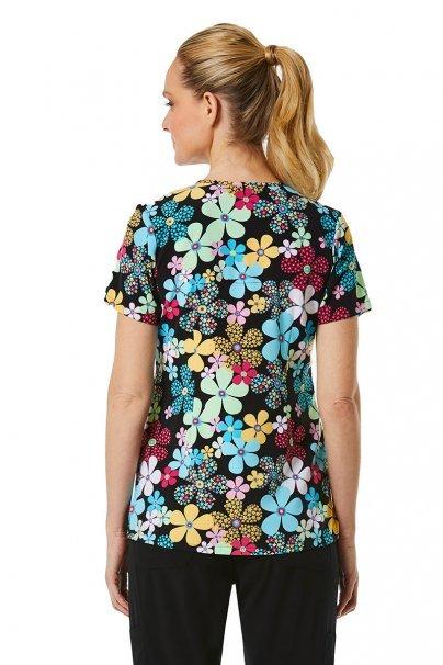 bluzy-we-wzory Lékařská halena Maevn Prints barevné květy