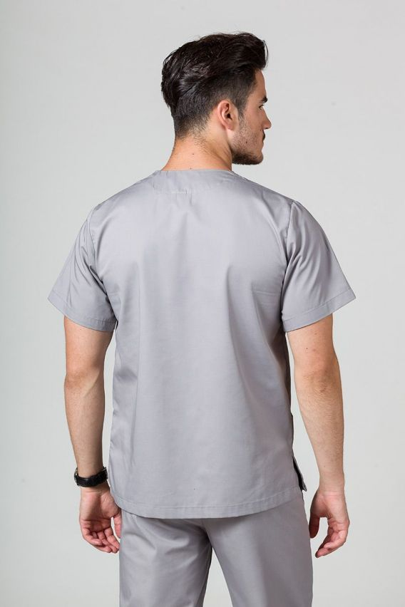 bluzy-1-1 Univerzální lékařská mikina Sunrise Uniforms šedá