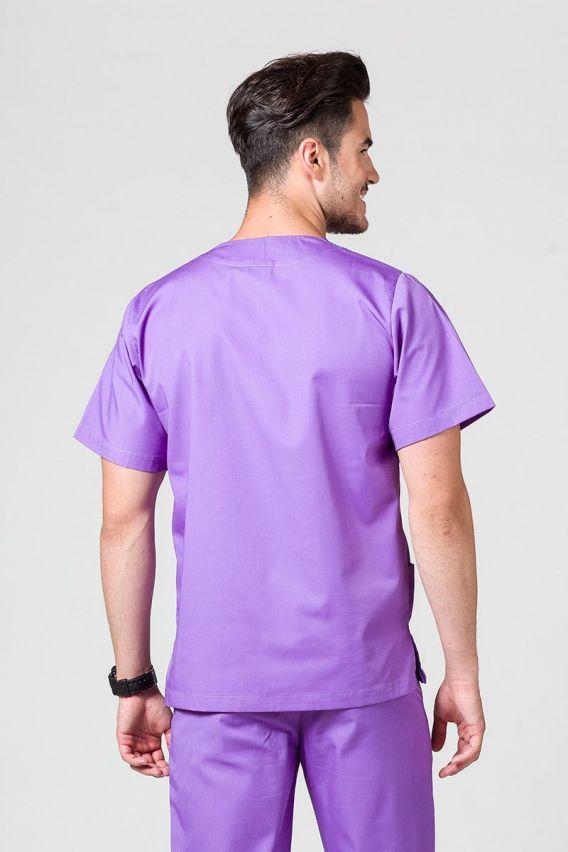 bluzy-medyczne-meskie Univerzální lékařská mikina Sunrise Uniforms fialová