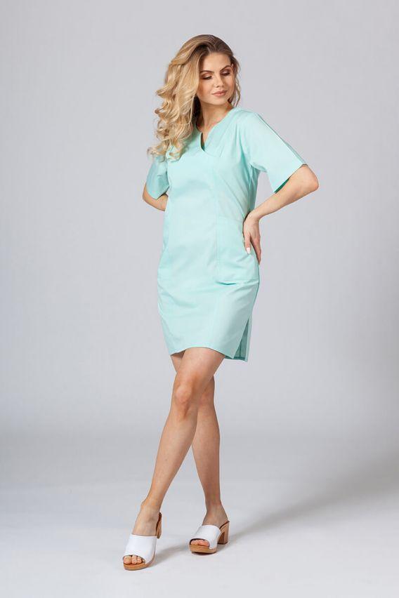 saty-1 Lékařské Klasické šaty Sunrise Uniforms mátové