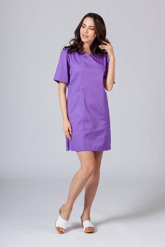 saty-1 Lékařské Klasické šaty Sunrise Uniforms fialové
