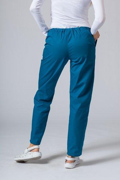 spodnie-medyczne-damskie Univerzální lékařské kalhoty Sunrise Uniforms karibské modré
