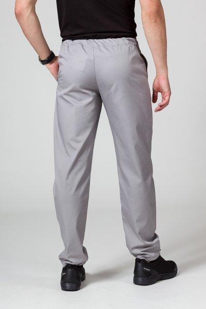 spodnie-medyczne-meskie Univerzální lékařské kalhoty Sunrise Uniforms šedé