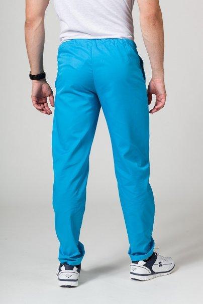 spodnie-medyczne-meskie Univerzální lékařské kalhoty Sunrise Uniforms tyrkysové