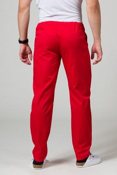 spodnie-medyczne-meskie Univerzální lékařské kalhoty Sunrise Uniforms červené