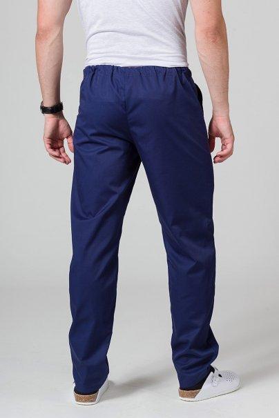 spodnie-medyczne-meskie Univerzální lékařské kalhoty Sunrise Uniforms námořnická modř
