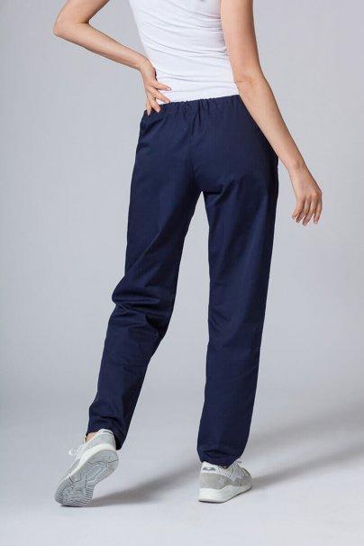 spodnie-medyczne-damskie Univerzální lékařské kalhoty Sunrise Uniforms námořnická modř