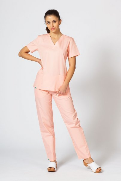 bluzy-medyczne-damskie Lékařská halena sunrise uniforms lososová
