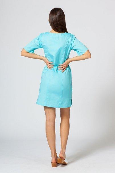 saty-1 Lékařské Klasické šaty Sunrise Uniforms aqua