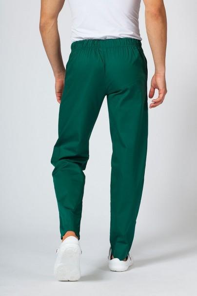 spodnie-medyczne-meskie Univerzální lékařské kalhoty Sunrise Uniforms tmavě zelená