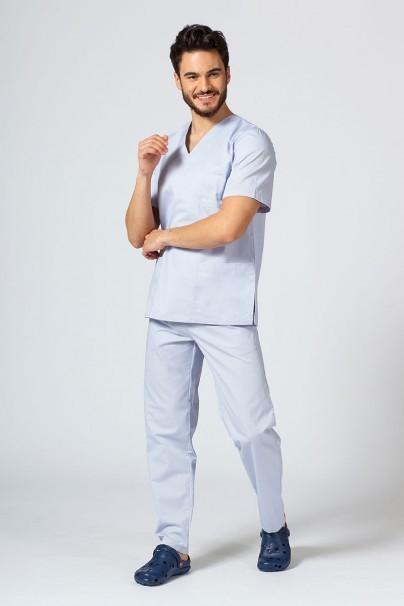 bluzy-1-1 Univerzální lékařská mikina Sunrise Uniforms světle šedá