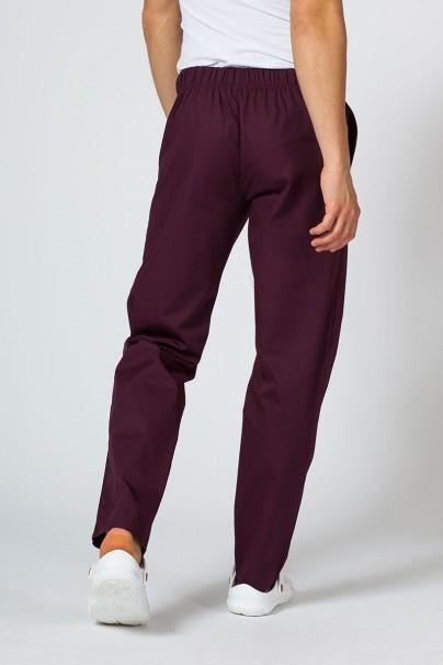 kalhoty-2 Univerzální lékařské kalhoty Sunrise Uniforms burgundové