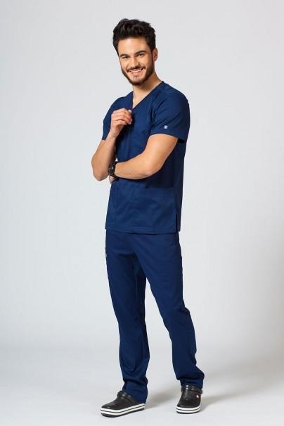 bluzy-1-1 Pánská lékařská halena Maevn Matrix Men námořnická modř