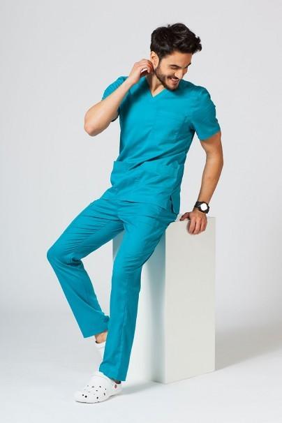 kalhoty-2 Lékařské kalhoty Maevn Matrix Men Classic mořsky modré
