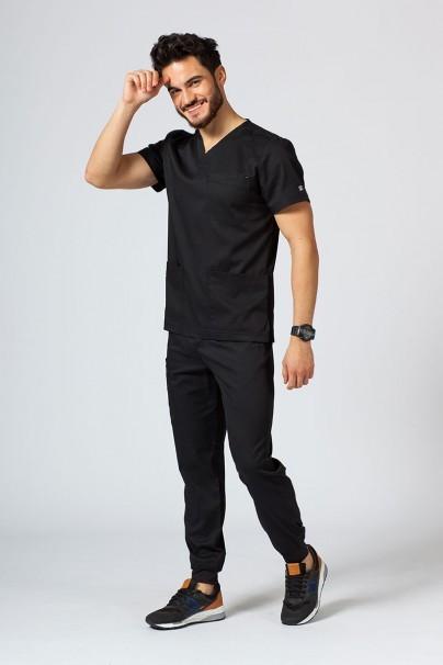 bluzy-1-1 Pánská lékařská halena Maevn Matrix Men černá