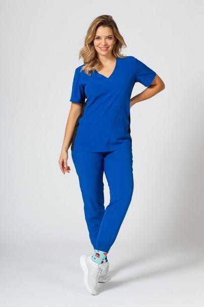 bluzy-medyczne-damskie Dámská halena Maevn Matrix Impulse Asymetric královsky modrá