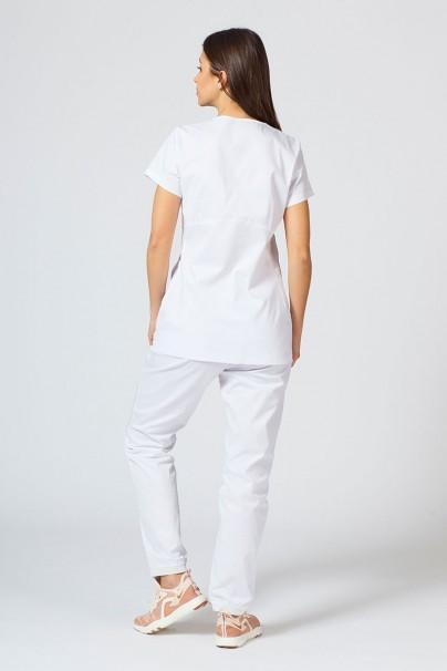 soupravy Zdravotnická souprava Sunrise Uniforms Active bílá (s halenou Kangaroo - elastic)
