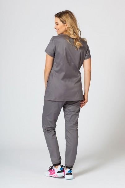 soupravy Zdravotnická souprava Sunrise Uniforms Active šedá (s halenou Kangaroo - elastic)